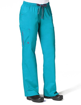 Maevn PrimaFlex Women's Petite Pleated Pocket Cargo Pant