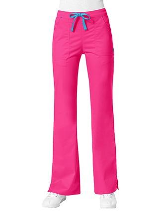 Maevn Blossom Women's Petite Multi Pocket Flare Pant