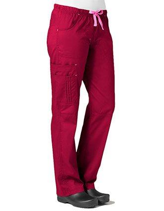 Maevn Blossom Women's Petite Pintuck Cargo Pant