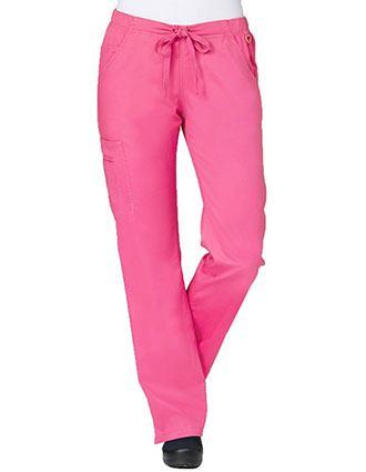 Maevn Blossom Women's Petite Straight Leg Cargo Pant