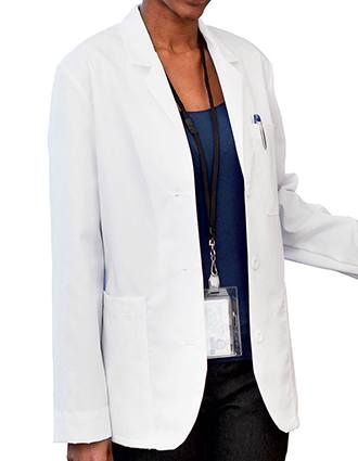 Meta Women's 28 Inches Multipocket Consultation Coat