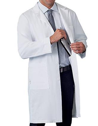 Meta Men's 38 inch Three Pocket Long Medical Lab Coat-ME-1963