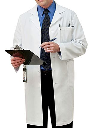 Meta Mens Five Pocket 40 inch Long Medical Lab Coat-ME-267