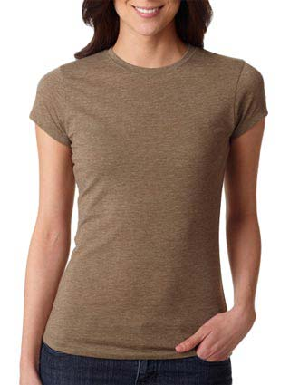 6000L Next Level Ladies' Poly/Cotton Tee-NE-6000L