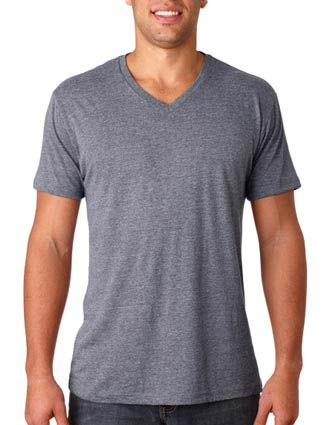 6040 Next Level Men's Tri-Blend V-NE-6040