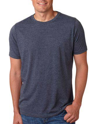 6200 Next Level Men's Poly/Cotton Tee-NE-6200