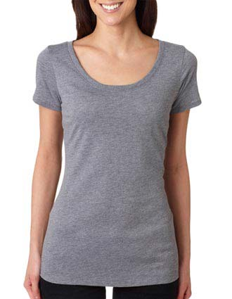 6730 Next Level Tri-Blend Scoop Tee-NE-6730