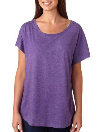 6760 Next Level Tri-Blend Dolman-NE-6760