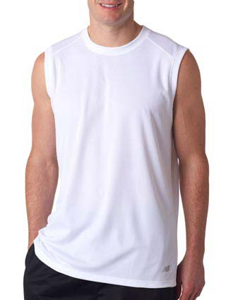 NB7117 New Balance® Men's NDurance® Athletic Workout T-Shirt-NE-NB7117