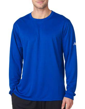 New Balance Men's NDurance Athletic Long-Sleeve T-Shirt-NE-NB7119