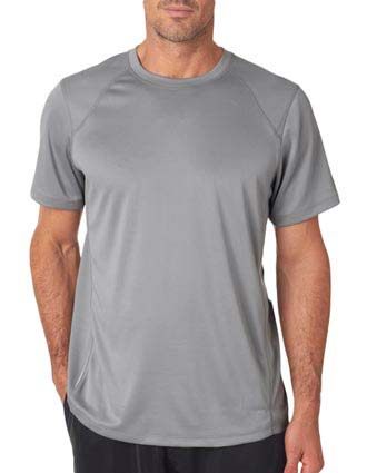 NB9118 New Balance Men's Tempo Performance T-Shirt-NE-NB9118