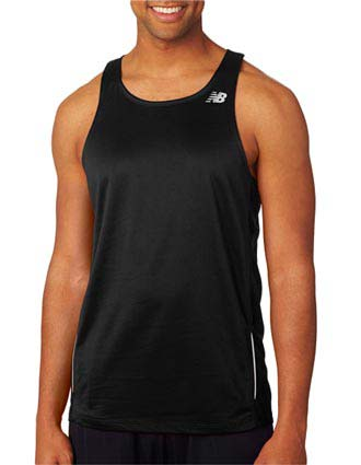 New Balance Men's Tempo Running Singlet-NE-NB9138