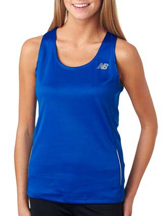 NB9138L New Balance Ladies' Tempo Running Singlet-NE-NB9138L
