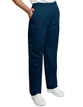 Adar Pro Two Pocket Elastic Waist Unisex Medical Scrub Pants-PN-2000
