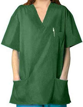 Adar Pro Womens V-Neck Three Pocket Nursing Scrub Top-PN-4002