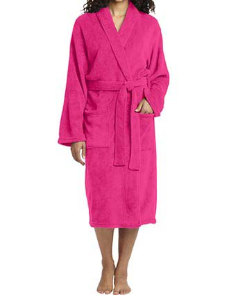 Port Authority Unisex Plush Microfleece Shawl Collar Robe-PO-R102