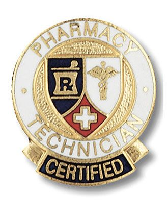 Prestige Certified Pharmacy Technician Pin