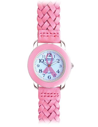 Prestige Woven Leather Band Fashion Watch