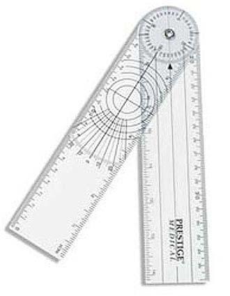 Prestige Transparent Plastic Goniometer