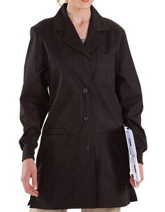 Prestige Women's Four Pocket Color Labcoat