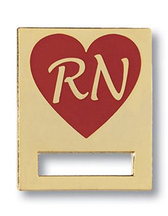 Prestige Registered Nurse Heart Badge and Professional Tac-PR-9382