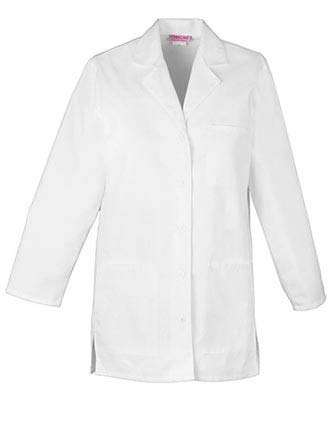 PU Made To Order Women's Short Lab Coat-PU-1001