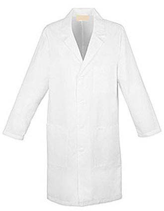 PU Made To Order Unisex 40 Inch Long Printed Lab Coat-PU-1008