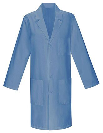 Unisex 40 Inches Three Pocket Assorted Colored Long Lab Coats-PU-1016