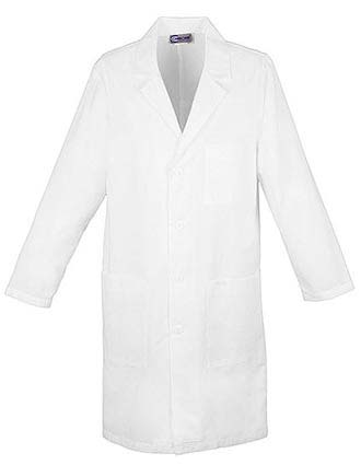 PU Made To Order Unisex Snap Front Long Lab Coat-PU-1024