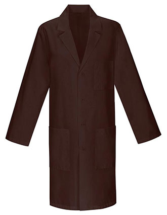 Unisex Colored 40 inch Three Pocket Long Lab Coats-PU-1032