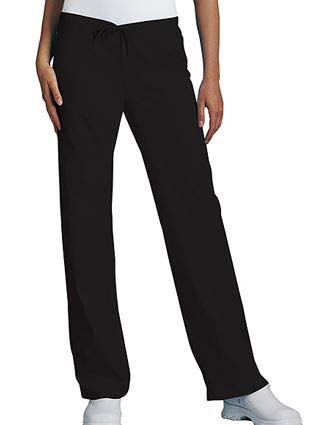PU Made To Order Women's Low Rise Drawstring Medical Scrub Pants-PU-2006