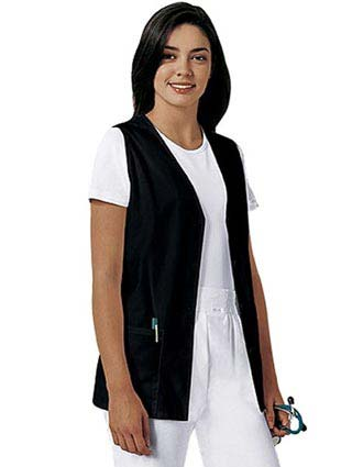 PU Made To Order Unisex Button Front Uniform Vest-PU-6010