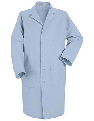 Red Kap Mens Three Pocket 41.5 Inches Medical Lab Coat