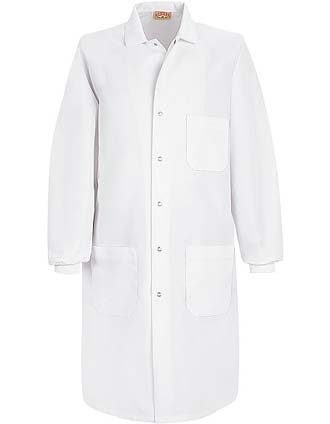 Red Kap Unisex Three Pocket Cuffed Specialized 41.5 Inches Long Lab Coat-RE-KP70