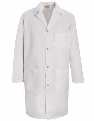 Red Kap Womens Three Pocket 38.25 inch Staff Lab Coat-RE-KT33