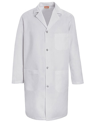 Red Kap Mens 39 inch Three Pocket Long Staff Lab Coat-RE-KT34
