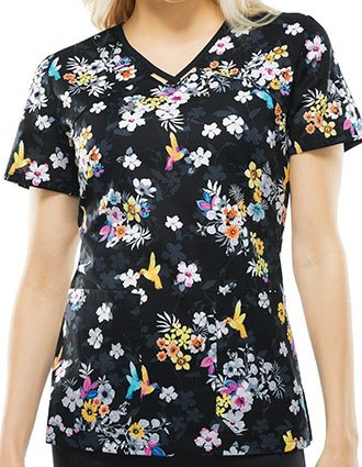 Runway Leafy Does It Women's Paradise To Meet You V-Neck Top