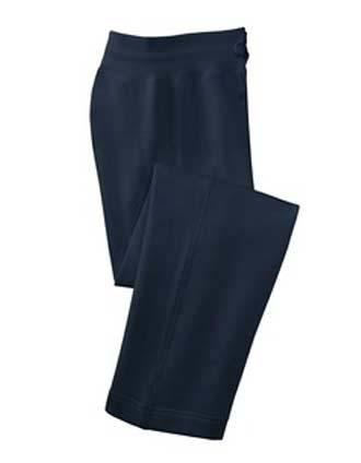 Sanmar Sport-Tek Womens Basic Fleece Straight Leg Pants