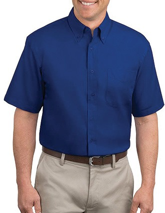 Sanmar Port Authority Men Short Sleeve Easy Care Shirt-SA-S508