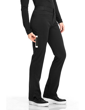 Sapphire Luxury Women's Roma Low Rise Zip Fly Slim Pant-SA-SA101A