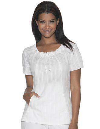 Buy Skechers Women Two Pocket Drawstring Neck Nurses Scrub