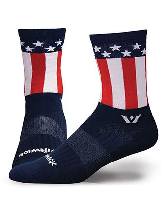 Swiftwick Unisex 1 Pair Pack Antimicrobial Quarter Calf Sock-SW-VISIONFIVE