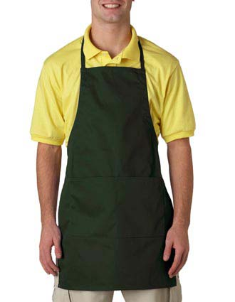 8204 UltraClub® Two-Pocket Adjustable Apron-UL-8204
