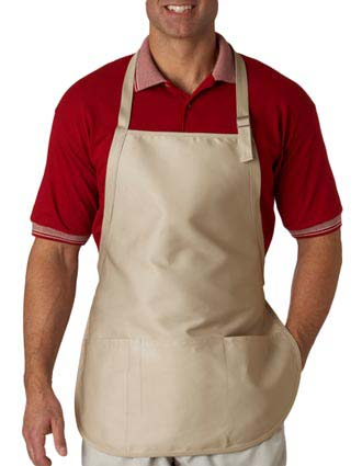 8205 UltraClub® Three-Pocket Apron with Buckle-UL-8205