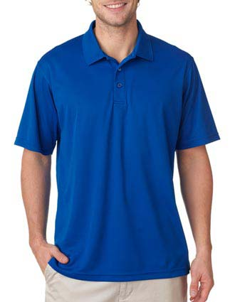 UltraClub Men's Cool & Dry Mesh Pique Polo-UL-8210