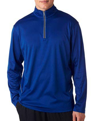8230 UltraClub Adult Cool & Dry Sport 1/4-Zip Pullover-UL-8230