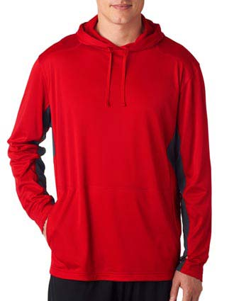 8231 UltraClub Adult Cool & Dry Sport Hooded Pullover-UL-8231