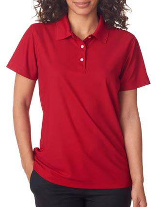 8240L UltraClub Ladies' Cool & Dry Pebble-Knit Polo-UL-8240L