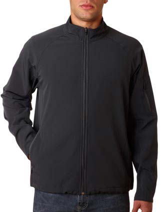 UltraClub® Adult Lightweight Soft Shell Jacket-UL-8271