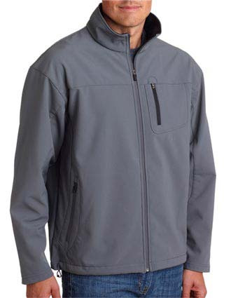 8280 UltraClub Adult Soft Shell Jacket with Cadet Collar-UL-8280